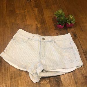 Striped Size 6 Cotton On Mid Saturday Denim Shorts